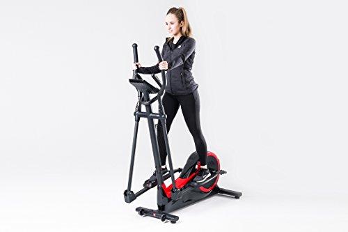 Hop-Sport Elliptical Crosstrainer HS-050C FROST Ellipsentrainer Pulsmessung Schwungmasse 9kg - 3