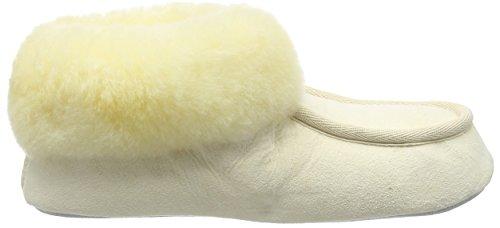 Shepherd Damen moa Eco Hausschuhe Off White (Relugan 45)