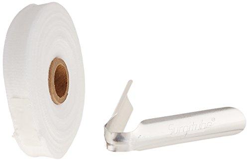10 Yd Erste Hilfe (Derma Wissenschaften gl110W surgitube Baumwolle Stahlrohr Gaze, kleine Finger, Zehen, 10yd Rolle, 1,6cm Breite, weiß)
