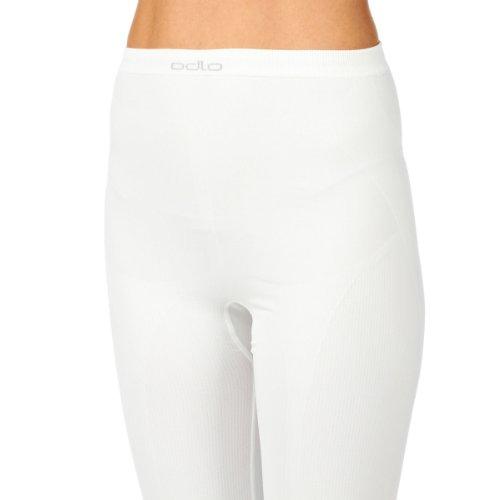 Odlo - Pantaloni termici long Evolution da donna Bianco