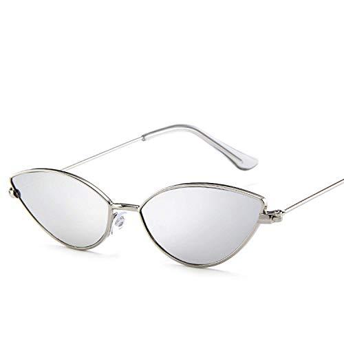 WERERT Sportbrille Sonnenbrillen Fashion Cute Sexy Ladies Sunglasses Women Metal Frame Vintage Candy Sun Glasses For Female Uv400 Shades
