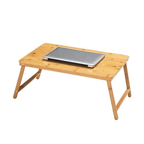 Qiuoorsqurp Bed faul Klappcomputertisch, einfacher Schreibtisch, Frühstücksservice Tablett Tisch, Gesundheitsmaterialien (Color : B)