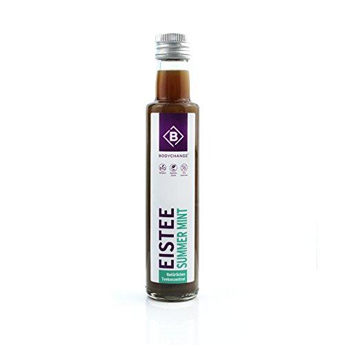 Bio Eistee Konzentrat in verschiendenen Geschmackrichtungen OHNE Süßungsmittel und Zucker (Summer Mint)
