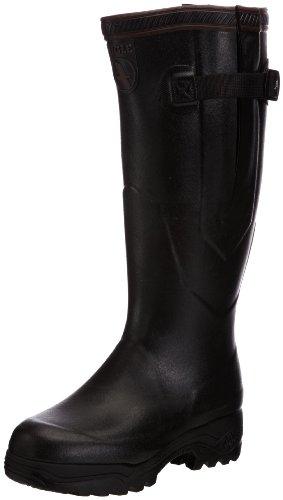 Aigle Parcours 2 Iso Gummistiefel 8421 Unisex-Erwachsene Warm gefüttert Gummistiefel Langschaft Stiefel & Stiefeletten, Schwarz (Noir), 39