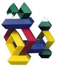 Instant Blox - Puzzle educativo, può assumere fino a 5.000 forme diverse, per grandi e piccini