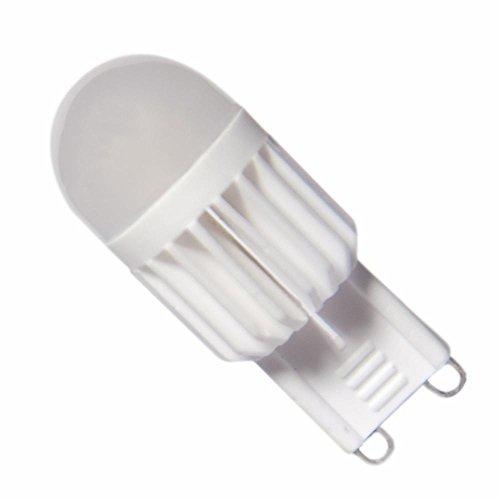 Silamp - Ampoule LED G9 5W 220V 180 - couleur eclairage : Blanc Chaud 2300K - 3500K