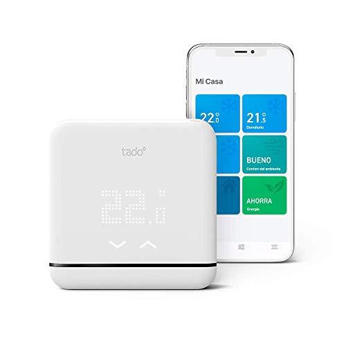 Tado° Control de Climatización Inteligente V3+, trabaja con Amazon Alexa, Apple HomeKit y Asistente...