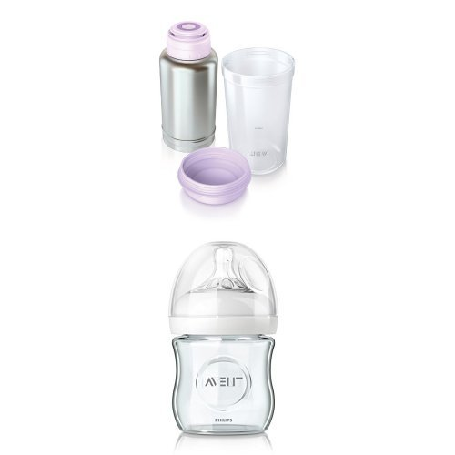 Philips Avent SCF256/00 + SCF671/17 Biberon Natural