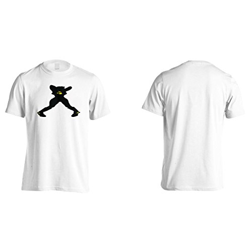 Fashion Girl Donne Divertente D'Epoca Uomo T-shirt ww10m White