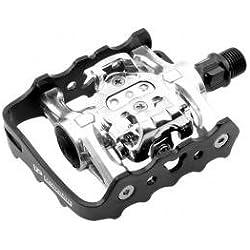 VP COMPONENTS - W920 : Pedales automaticos por una cara y normales otra MIXTOS cala shimano bici bicic