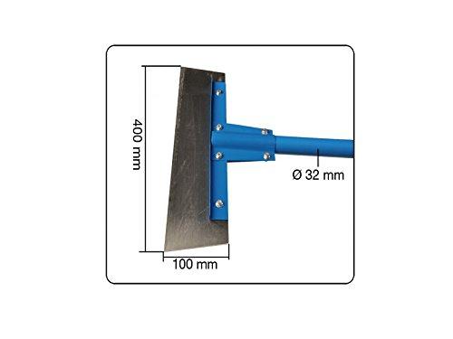 Fußbodenschaber mit 2x austauschbaren Klingen 400 mm