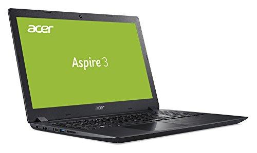 Acer Aspire 3 A315-51-59ZD 39,62 cm (15,6 Zoll, Full-HD, matt) Notebook (Intel Core i5-7200U, 4GB RAM, 128GB SSD, 1000GB HDD, Intel HD, Win 10) schwarz