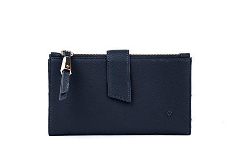 SAMSONITE Satiny SLG - Fashion Wallet + Double Zipper Kreditkartenhülle, 0 Liter, Dark Navy