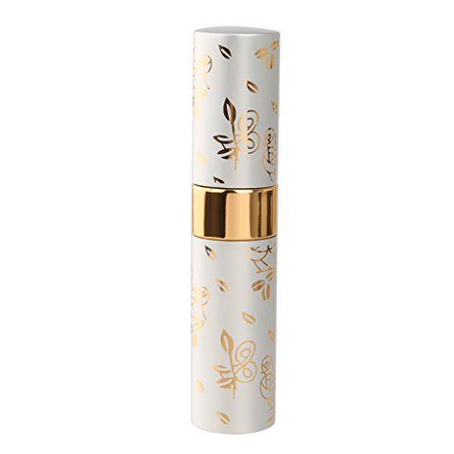 15ml Vaporisateur de Parfum Vide Atomiseur Flacon de Pulvérisation - Argent