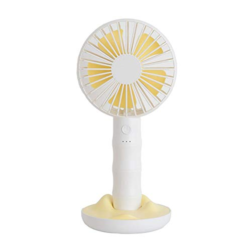 Precauti Mini Fan Silent Fan Elektrische Handventilator Tragbare Hand batteriebetriebene Lüfter mit 3 Geschwindigkeiten für Kinder Outdoor Haushalt Reisen