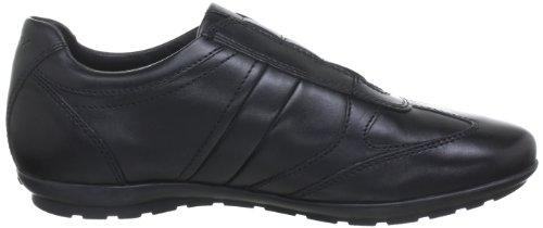 Geox U Symbol Herren Sneakers Schwarz (blackc9999)