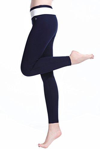 Lotus Instyle Femmes Yoga Sport Pantalons Sweatpants incl. Ceinture blue