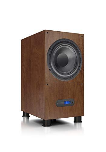 Nubert nuLine AW-600 Subwoofer   Lautsprecher für Bass & Effekte   Surround & Action auf hohem Niveau   Aktivsubwoofer-Technik   LFE-Box mit 240 Watt   Kompaktsubwoofer Schwarz