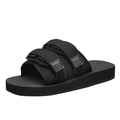 Sommer Freizeit Paar Flip Flops Flats Strand Anti-Slip Schuhe Post Hausschuhe Zolimx -