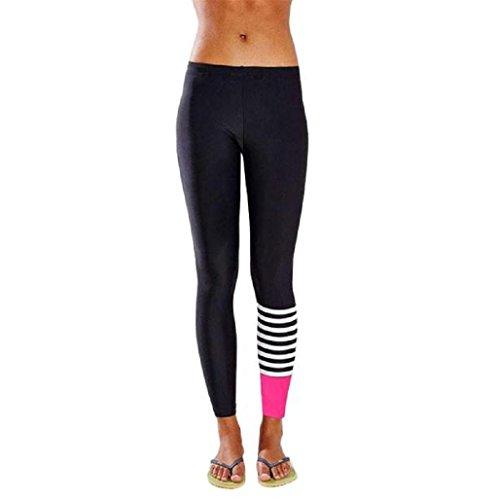 pantalon-chandal-mujer-sannysis-yoga-pantalon-mujer-runing-color-de-raya-rosa-s