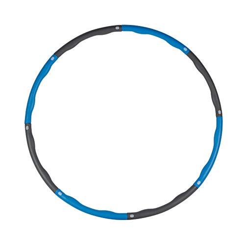 HULAQ Hula Hoop Detachable Fitness Ring Massage Schlankheitsring Schaumstoff Kinder umweltfreundliche Materialien Sport für Bewegung, Tanz Fitness Fitness,Blue,7knots