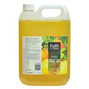 Faith in Nature, Grapefruit & Orange Foam Bath, 5l