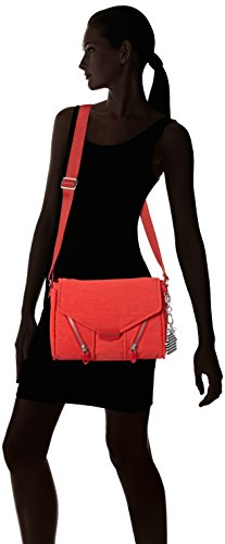 Kipling Damen Ready Now Umhängetaschen New Red L