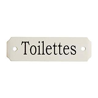 Au Bain de Marie Schild für Toilettentür, klein, französische Aufschrift
