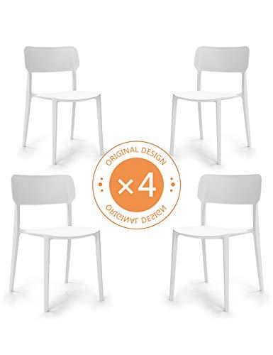 Suhu Stuhl Retro 4er Set Esszimmerstühle Esszimmer Designer Sessel Esstisch Stühle Modern...
