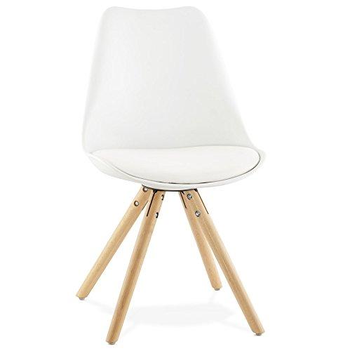 Silla Nórdica (Pack 4) - Silla scandi Blanca - silla nordic escandinava inspirada en silla eames dsw - Topic - (Elige tu color)