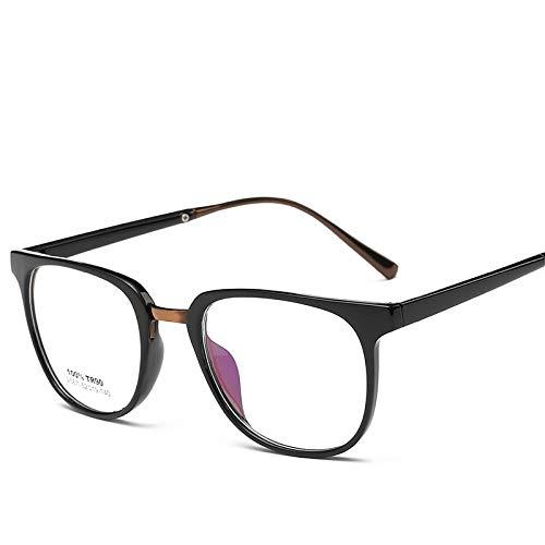YMTP Männer Frauen Brillen Rahmen Nette Myopie Designer Optische Klare Brille Rahmen Brillengestell, C1