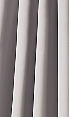 Opaque Curtains Blackout Rod Pocket Curtain with Concealed Loops, Thermal
