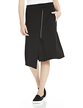 Bench Sweat Skirt Asymetrical Zip Front, Falda para Mujer