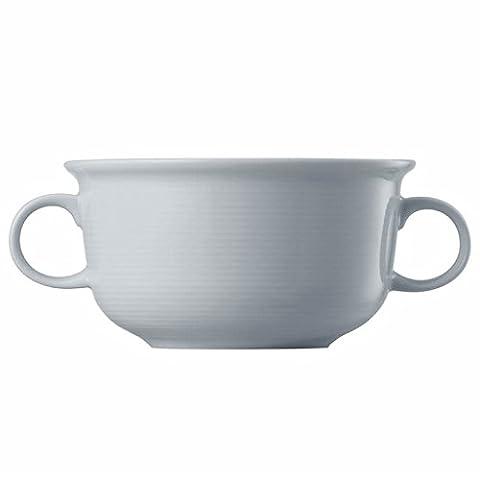 Tasse à Bouillon Thomas Trend, Tasse Bol avec Anse, Soupe, Porcelaine, Blanc, Compatible Lave-Vaisselle, 33 cl, 10449