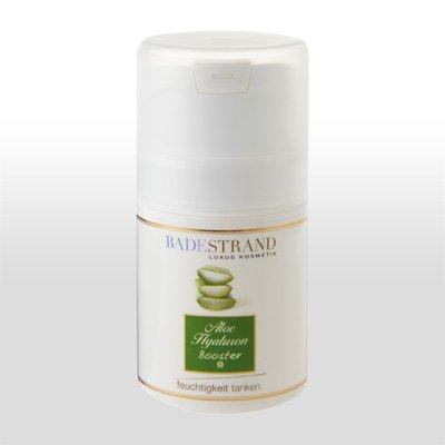 Badestrand Aloe Hyaluron Feuchtigkeits Booster 50ml, die Lösung bei trockener Haut