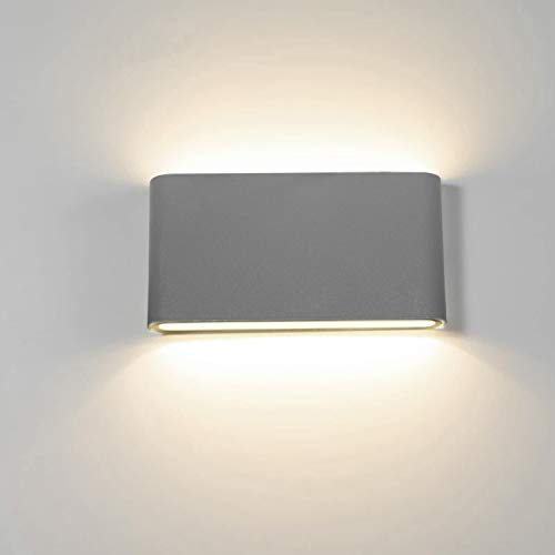 Topmo-plus 12w lámpara de pared LED impermeable IP65 moderno apliques aluminio apliques...