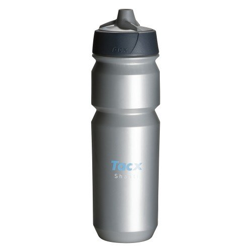 Tacx Trinkflasche Shanti 750 ml mit Membranverschluß, Silber, T5853 -