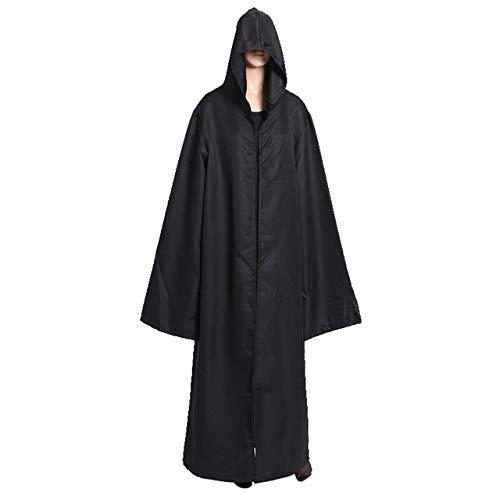 Prima05Sally Neuheit Design Adult Elf Hexe Lange Halloween-Mäntel Hood Halloween-Kostüme (Könige Mantel Adult Kostüme)