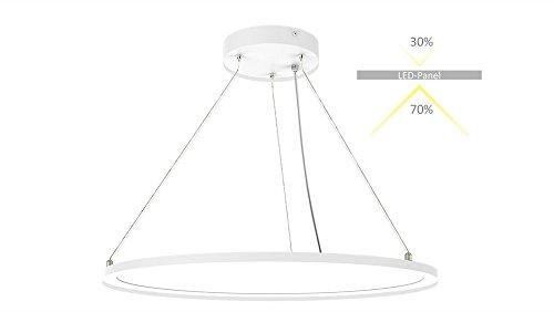 Flat-panel-gehäuse (randlight® - LED Panel-ZS R-610 AW-40W-U19-dw RL#021932 40W IP40 (EEK: A+) Tageslicht Weiß Set inkl. Netzteil)