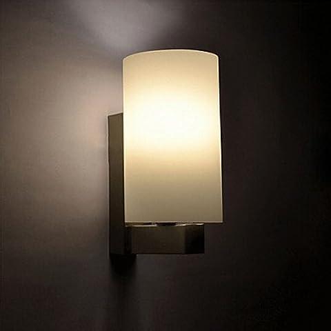 ASNSWDC® Luce della parete, 1 Luce, Panna Minimalista Bianco Ferro , 220-240V