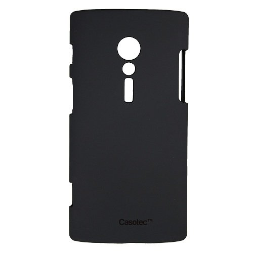 Casotec Ultra Slim Hard Shell Back Case Cover for Sony Xperia Ion LT28i - Black  available at amazon for Rs.125