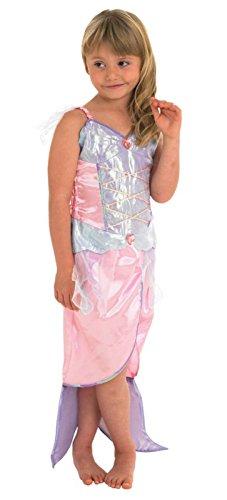 Meerjungfrau Mädchen Kinder Zwei Stück Mermaid Kostüm Mehrfarbiges Sparkle Kostüm
