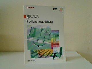Canon BJC-4400 Bedienungsanleitung zum Bubble-Jet-Farbdrucker