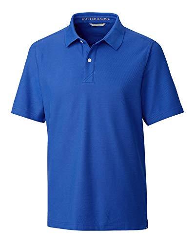 Cutter & Buck Herren Big & Tall Short Sleeve Breakthrough 2 Button Polo Poloshirt, Chelan, 3XT -