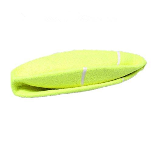 Nicholco - Pelota de tenis hinchable gigante de 24 cm, juguete para masticar para mascotas