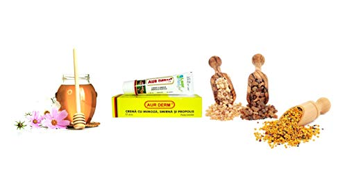 Mimosa, Myrrhe und Propolis Creme 30ml