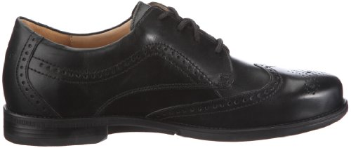 Ganter Greg Weite G 1-257211-0100, Chaussures à lacets homme Noir - V.6