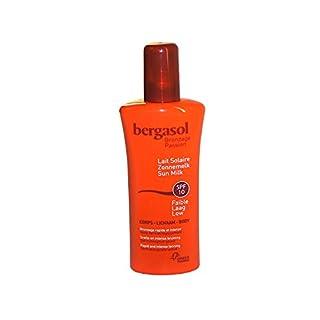 Berg Asol,, Fast and Tanning SPF10Sun Protection Spray Sun Cream Face and Body Milk 125ml
