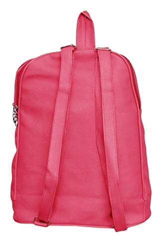 GARIB NAWAZ BAGS Mayena Collection Women's Pink Canvas Backpack Image 3