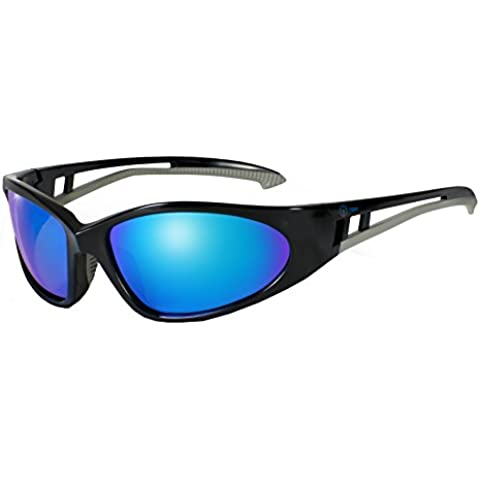 nexi Deportes Gafas Gafas de sol S de 15Ideal para conducción con polarización, S-15A-P Black (mit